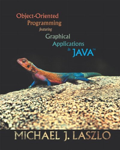 9780201726275: Object-Oriented Programming Featuring Graphical Applications in Java