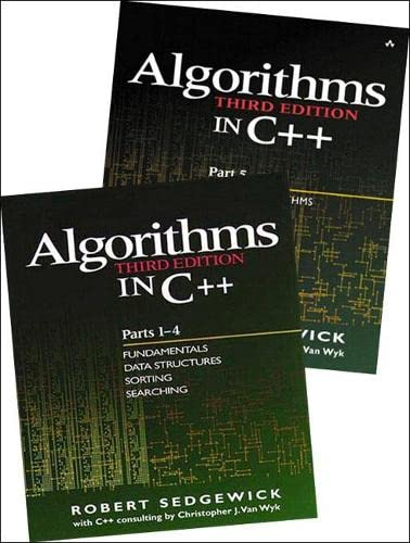 9780201726848: Bundle of Algorithms in C++, Parts 1-5: Fundamentals, Data Structures, Sorting, Searching, and Graph Algorithms (3rd Edition) (Pts. 1-5)