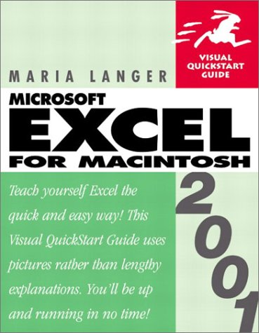 9780201729252: Excel 2001 for Macintosh (Visual QuickStart Guide)