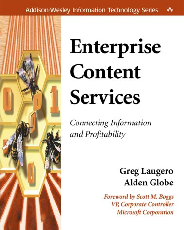 9780201730166: Enterprise Content Services: Connecting Information and Profitability