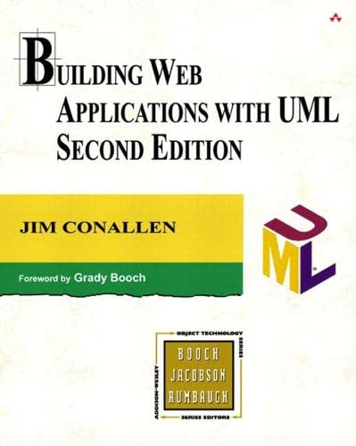 9780201730388: Building Web Applications with UML (The Addison-Wesley Object-Technology Series)