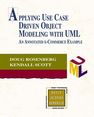 9780201730395: Applying Use Case Driven Object Modeling With Uml: An Annotated E-Commerce Example