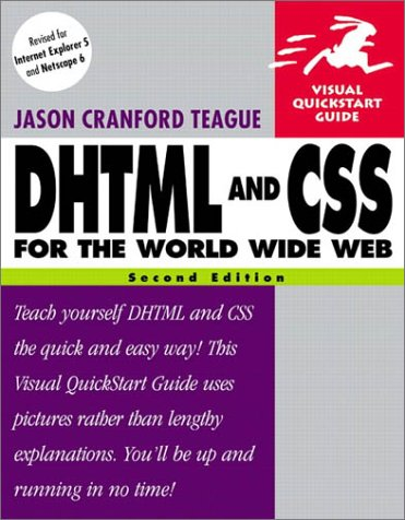 9780201730845: DHTML and CSS for the World Wide Web, Second Edition