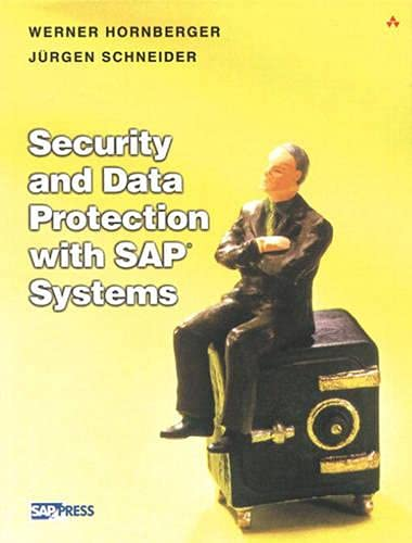 9780201734973: Security and Data Protection for SAP Systems