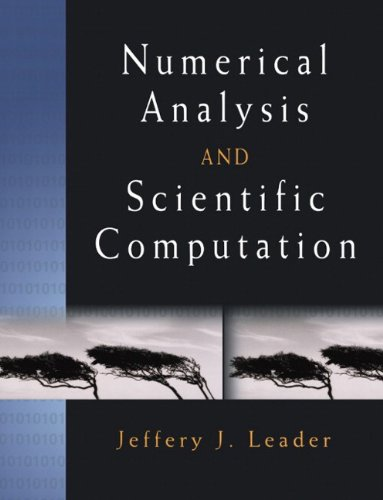 9780201734997: Numerical Analysis and Scientific Computation
