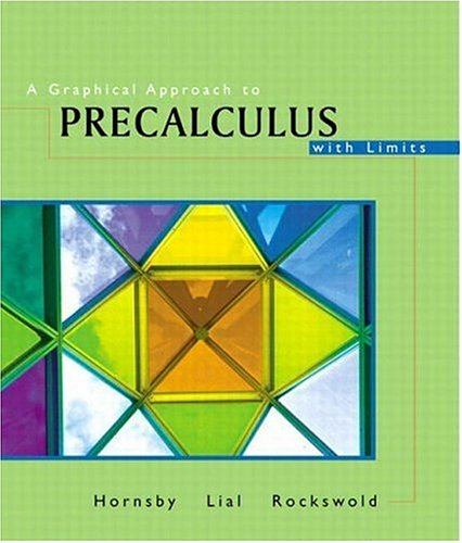 9780201735130: A Graphical Approach to Precalculus with Limits, 3rd Edition