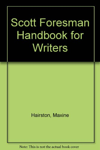 9780201735741: Scott Foresman Handbook for Writers