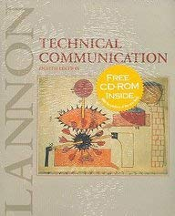 9780201736632: Technical Communication and CD-ROM: WITH Interactive Edition CD-ROM in Vinyl Bag AND Free CD Sticker
