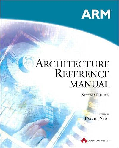 9780201737196: ARM Architecture Reference Manual