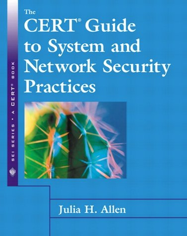 9780201737233: The Cert Guide to System and Network Security Practices