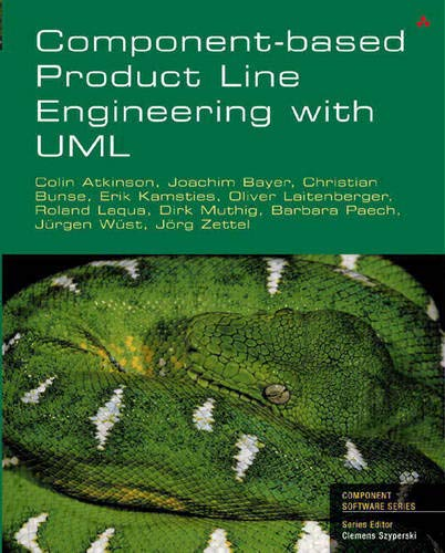 Component-Based Product Line Engineering with UML: Atkinson, Colin, Laitenberger,