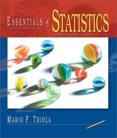 9780201741186: Essentials of Statistics