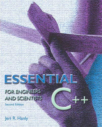9780201741254: Essential C++ for Engineers and Scientists (2nd Edition)