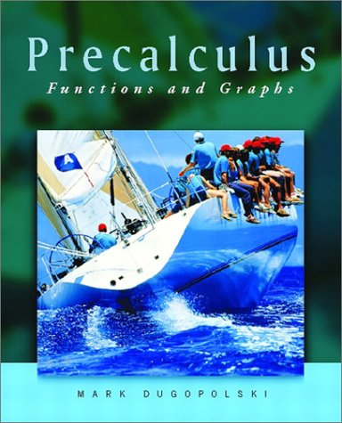 9780201742060: Precalculus: Functions and Graphs