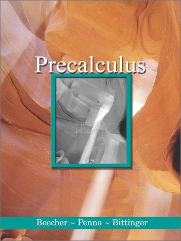 9780201742442: Precalculus