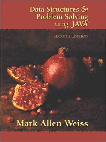 9780201748352: Data Structures and Problem Solving Using Java (2nd Edition)