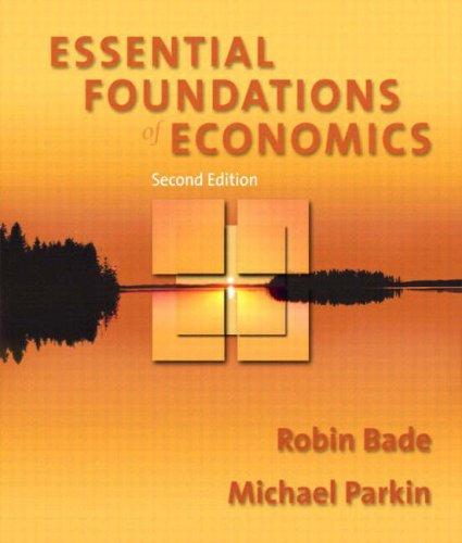 9780201748802: Essential Foundations of Economics