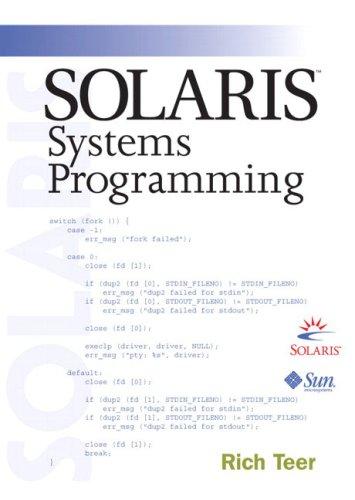 9780201750393: Solaris Systems Programming