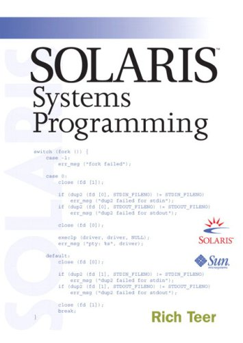 9780201750393: Solaris Systems Programming