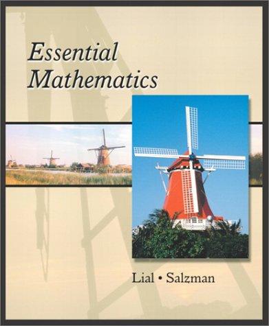 9780201750683: Essential Mathematics