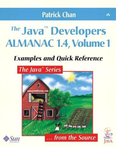9780201752809: The Java Developers Almanac 1.4: Examples and Quick Reference