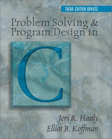 9780201754902: Problem Solving and Program Design in C (3rd Edition)