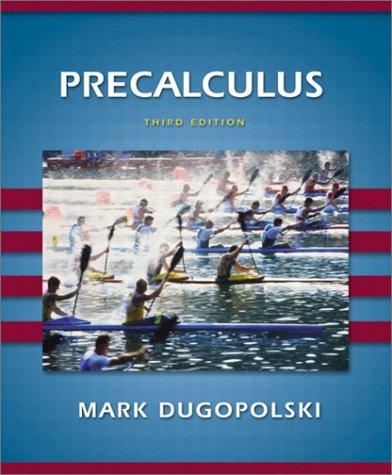 9780201755244: Precalculus (3rd Edition)