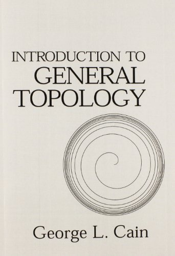 9780201756111: Introduction to General Topology