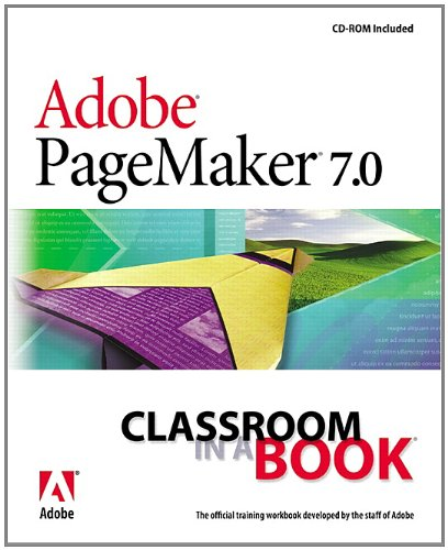 9780201756258: Adobe PageMaker 7.0 Classroom in a Book