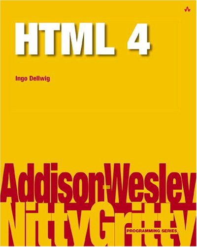 9780201758771: Nitty Gritty HTML 4
