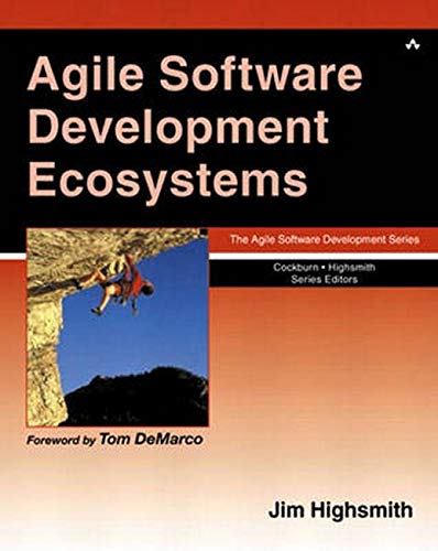 9780201760439: Agile Software Development Ecosystems (Agile Software Development Series)