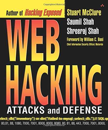 9780201761764: Web Hacking: Attacks and Defense
