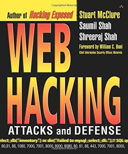 9780201761764: Web Hacking: Attacks and Defense