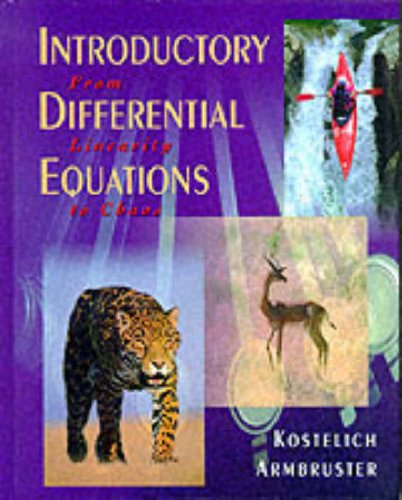 9780201765496: Introductory Differential Equations: From Linearity to Chaos