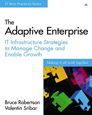 9780201767360: The Adaptive Enterprise: IT Infrastructure Strategies to Manage Change and Enable Growth (IT Best Practices)