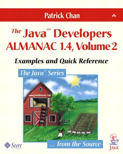 9780201768107: The Java Developers Almanac 1.4: Examples and Quick Reference: 2