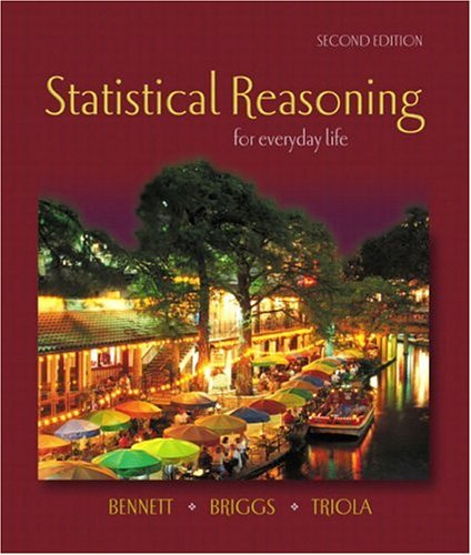 9780201771282: Statistical Reasoning for Everyday Life (2nd Edition)