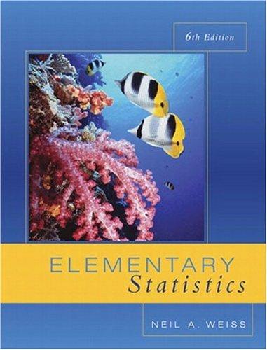 9780201771305: Elementary Statistics (6th Edition)