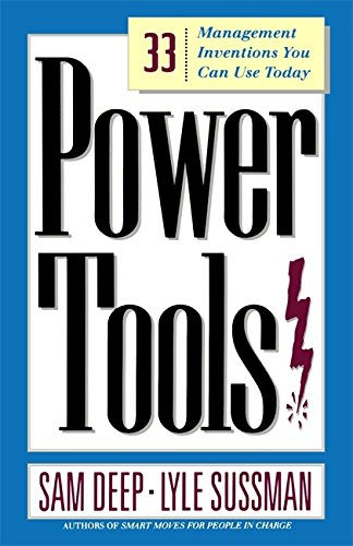 9780201772975: Power Tools: 33 Management Inventions You Can Use Today
