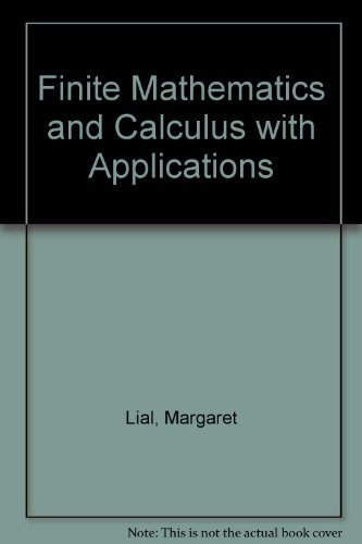 9780201773224: Finite Mathematics & Calculus with Applications (6th Edition)