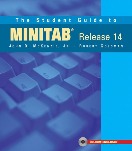 9780201774696: The Student Guide to MINITAB Release 14