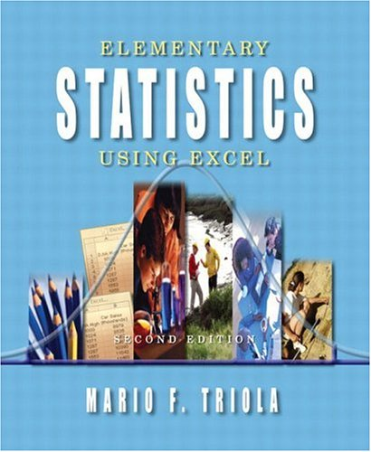 9780201775693: Elementary Statistics Using Excel,2nd Edition