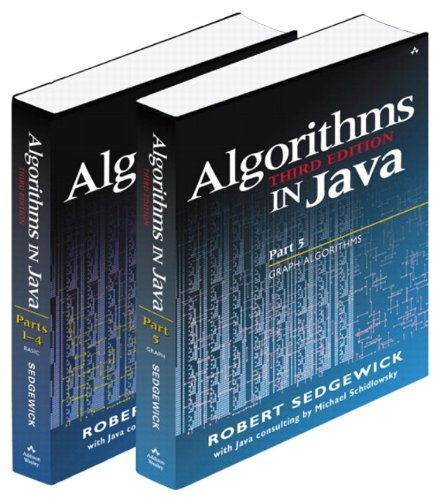 9780201775785: Bundle of Algorithms in Java, Third Edition, Parts 1-5: Fundamentals, Data Structures, Sorting, Searching, and Graph Algorithms (3rd Edition) (Pts. 1-5)