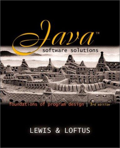 9780201781298: Java Software Solutions: Foundations of Program Design, Update JavaPlace