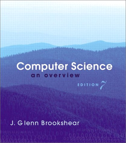 9780201781304: Computer Science: An Overview