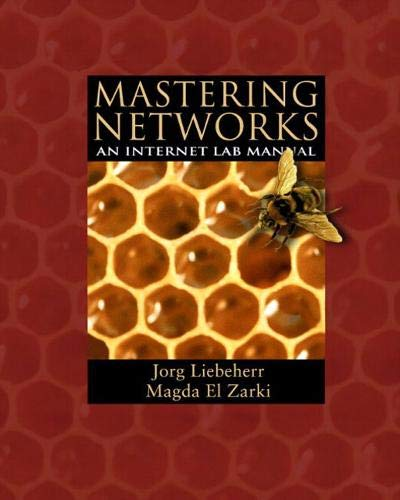 9780201781342: Mastering Networks: An Internet Lab Manual