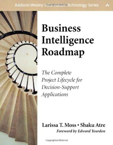 9780201784206: Business Intelligence Roadmap: The Complete Project Lifecycle for Decision-Support Applications (Addison-Wesley Information Technology Series)
