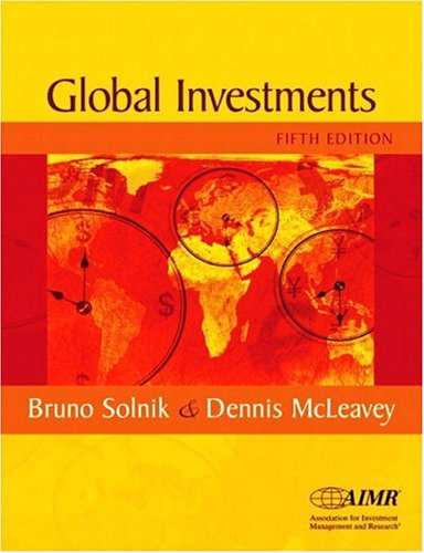 9780201785685: International Investments (The Addison-Wesley Series in Finance)