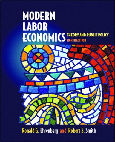 9780201785777: Modern Labor Economics: Theory and Public Policy (Addison-Wesley Series in Economics)