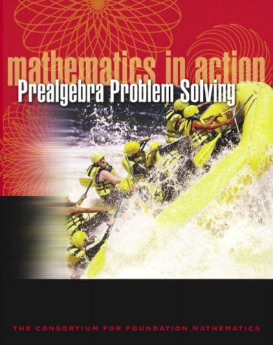 9780201785852: Mathematics in Action: Prealgebra Problem Solving